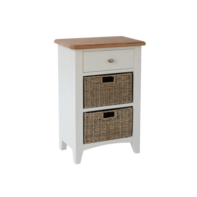 Cookes Collection Palma 1 Drawer 2 Basket Unit 1