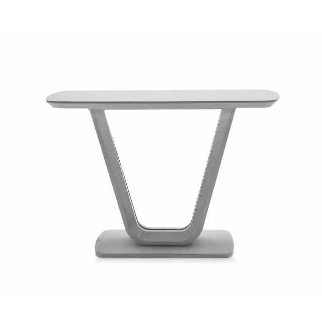 Cookes Collection Lewis Console Table Grey 1