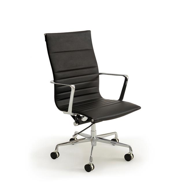 Denbigh Desk Chair Black Chairs, Black Desk Chairs
