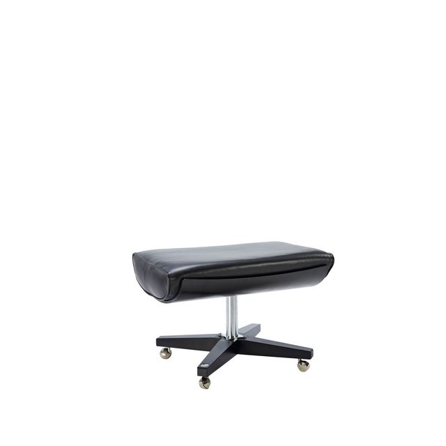 G Plan Vintage The Sixty Two Leather Footstool