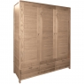 Ercol Bosco 3 Door Wardrobe 1