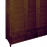Ercol Bosco 3 Door Wardrobe 3
