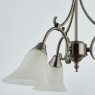 Antique Silver 3 Light Fitting 4