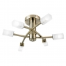 Antique Brass 6 Light Fitting
