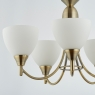 Antique Brass 5 Light Fitting 2