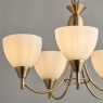 Antique Brass 5 Light Fitting 3