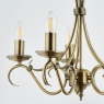 Antique Fitting with 5 Candles 2