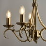 Antique Fitting with 5 Candles 4