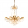Gold 9 Light Chandelier