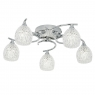 Chrome 5 Light Ceiling Fitting 1