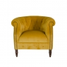 Alexander And James Jude Chair In Fabric A