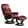 Stressless Consul Large Chair and Stool 2