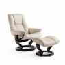 Stressless Mayfair Small Chair & Stool Classic Base 1