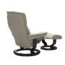 Stressless Mayfair Small Chair & Stool Classic Base 3