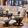 Stressless Mayfair Small Chair & Stool Classic Base 5