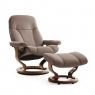 Stressless Consul Medium Chair And Stool
