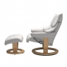 Stressless Reno Small Chair & Stool Classic Base 2