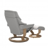 Stressless Reno Small Chair & Stool Classic Base 3