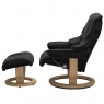 Stressless Reno Large Chair & Stool Classic Base 2