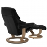 Stressless Reno Large Chair & Stool Classic Base 3