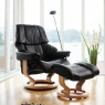 Stressless Reno Large Chair & Stool Classic Base 6