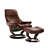 Stressless Sunrise Medium Chair And Stool