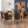Cookes Collection Montreal Extending Dining Table and 6 Chairs
