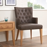Montreal Cookes Collection Montreal Armchair Dining Chair In Faux Leather