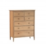 Ercol Teramo 7 Drawer Wide Chest