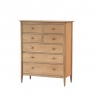 Ercol Teramo 7 Drawer Tall Wide Chest 2