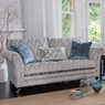 Cookes Collection Linwood 3 Seater Sofa - In Fabric B