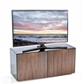 TV UNITS High Gloss TV Unit With Wireless Phone Charging In Black