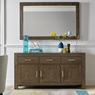 TRINITY DARK OAK DINING Cookes Collection Trinity Dark Oak Wide Sideboard