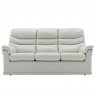G Plan Malvern 3 Seater Sofa In Leather