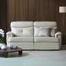 G Plan Upholstery Atlanta Leather 3 Seater Sofa