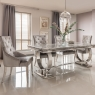 Cookes Collection Valentina Dining Table and 4 Chairs