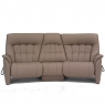 4349 - RHINE Himolla Rhine Curved Sofa with Cumuly Function and Table