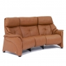 4246 - CHESTER Himolla Chester Curved 3 Seater Reclining Sofa