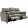 G Plan Spencer 3 Seater Double Electric Recliner Sofa In Leather