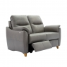 G Plan Spencer 2 Seater Double Electric Recliner Sofa In Leather
