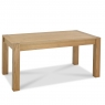 Cookes Collection Trinity Light Oak Medium Extending Dining Table