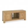 Cookes Collection Trinity Light Oak Entertainment Unit