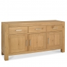 Cookes Collection Trinity Light Oak Wide Sideboard
