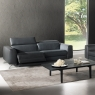 Natuzzi Editions Pensiero Electric Recliner Loveseat 3
