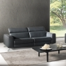 Natuzzi Editions Pensiero Electric Recliner Loveseat 5