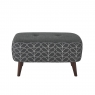 Orla Kiely Donegal Small Footstool 1