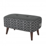 Orla Kiely Donegal Small Footstool 3