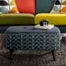 Orla Kiely Donegal Small Footstool 5