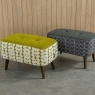 Orla Kiely Donegal Small Footstool 7