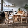 Ercol Windsor Medium Extending Table and 6 Chairs 7